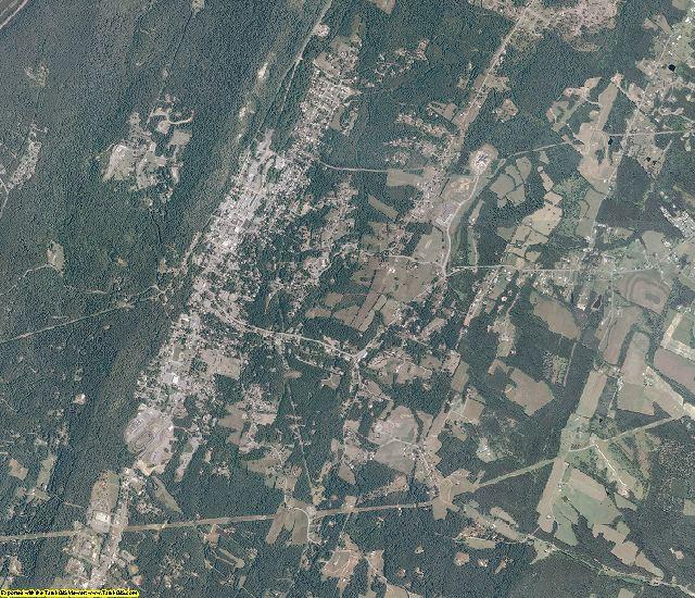 Morgan County, West Virginia aerial photography