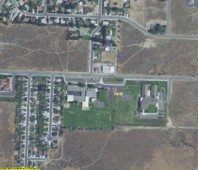 Morrow County, OR aerial photography detail