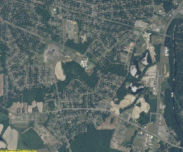 Nash County, North Carolina aerial photography