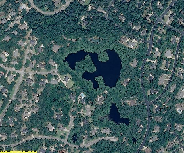 New Hanover County, NC aerial photography detail