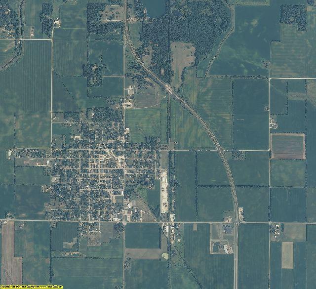 Newton County, Indiana aerial photography