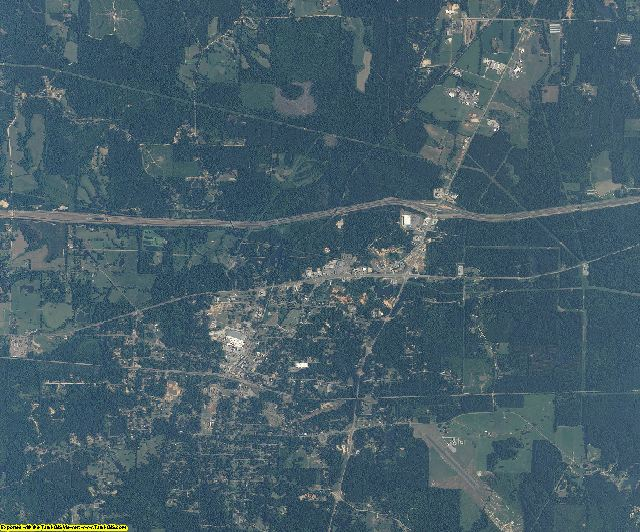 Newton County, Mississippi aerial photography