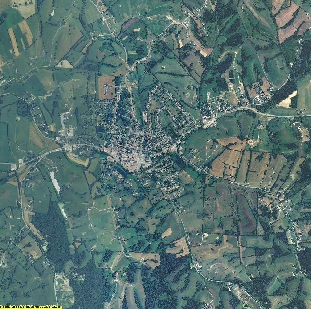 Nicholas County, Kentucky aerial photography