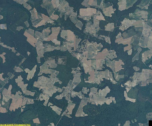 Northampton County, North Carolina aerial photography
