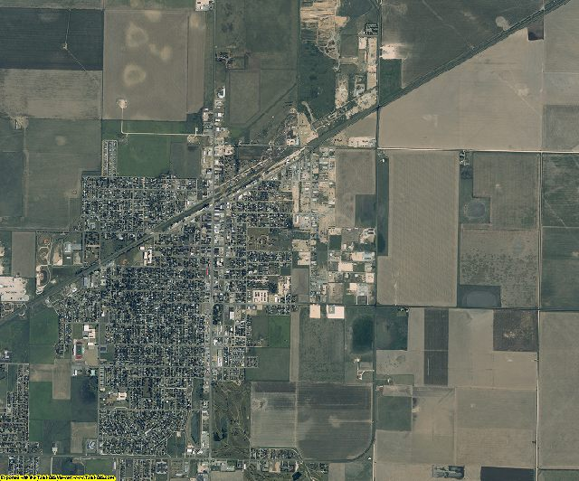 Ochiltree County, Texas aerial photography