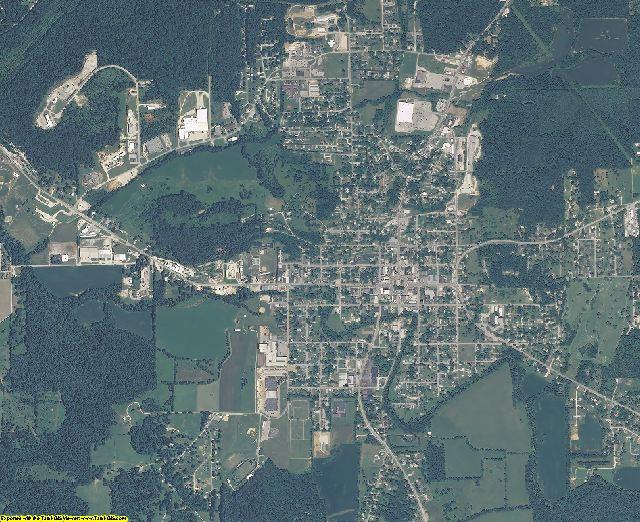 Orange County, Indiana aerial photography
