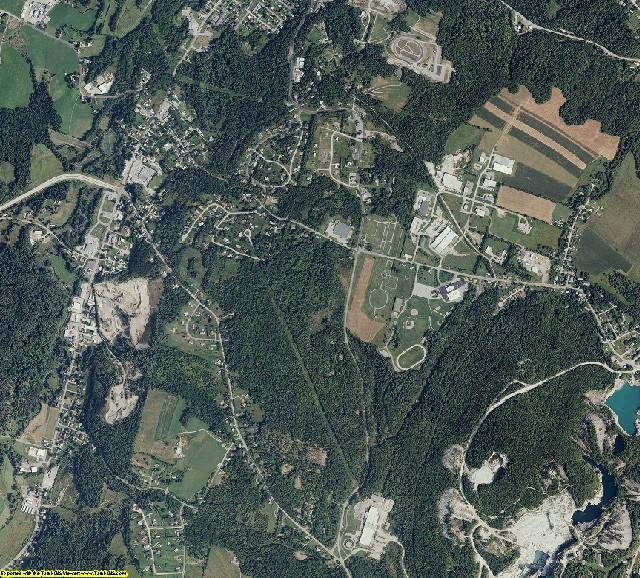 Orange County, Vermont aerial photography