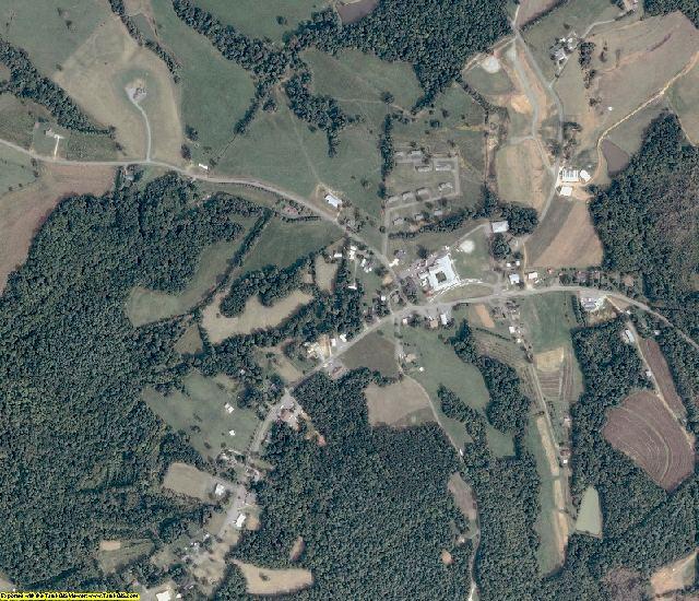 Patrick County, VA aerial photography detail
