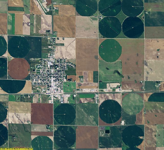 Perkins County, Nebraska aerial photography