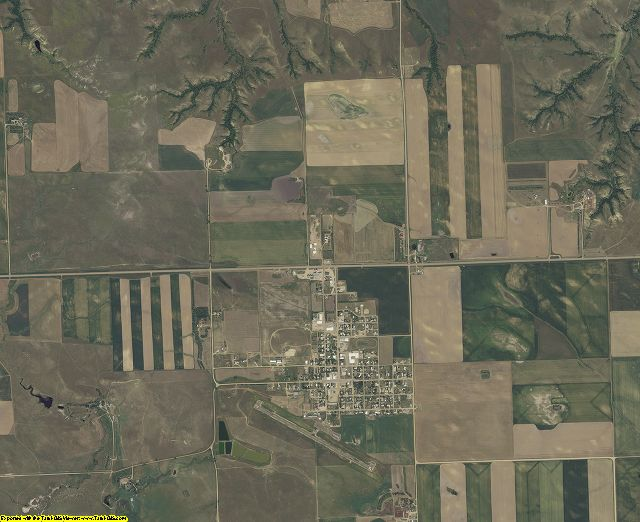 Perkins County, South Dakota aerial photography
