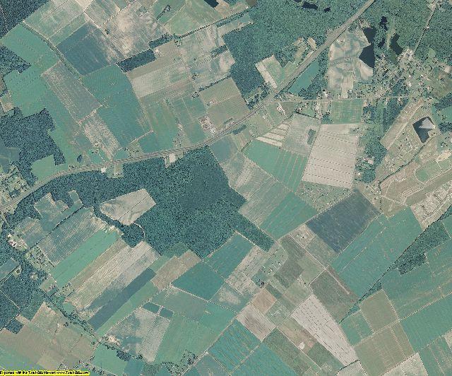Perquimans County, North Carolina aerial photography