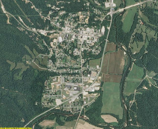 Perry County, Tennessee aerial photography