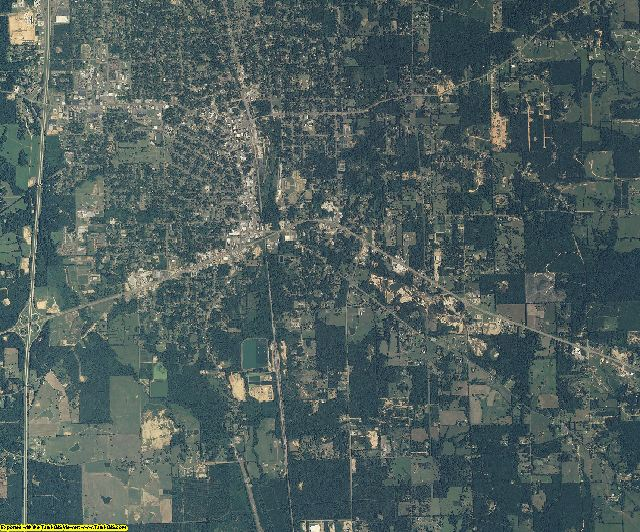 Pike County, Mississippi aerial photography