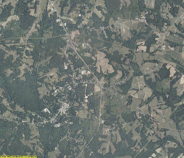 Pittsylvania County, Virginia aerial photography