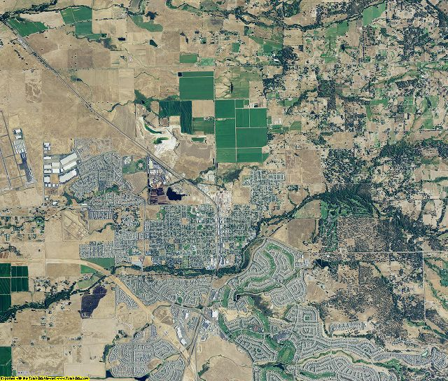 Placer County, California aerial photography