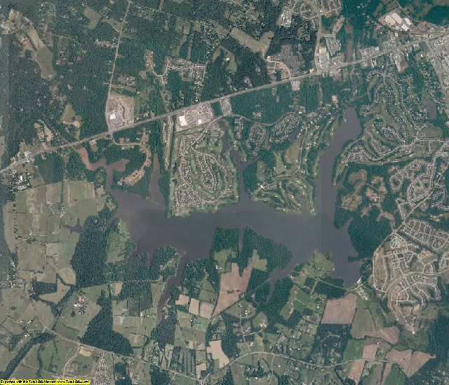 Prince William County, Virginia aerial photography