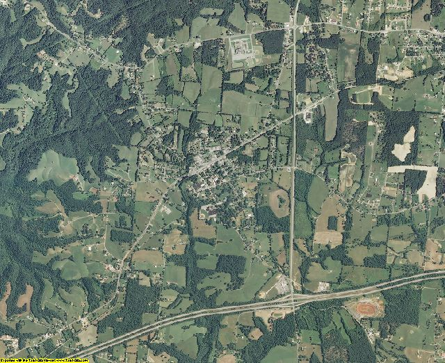 Putnam County, Tennessee aerial photography