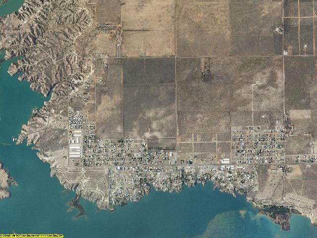 Quay County, New Mexico aerial photography