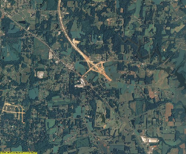 Randolph County, North Carolina aerial photography