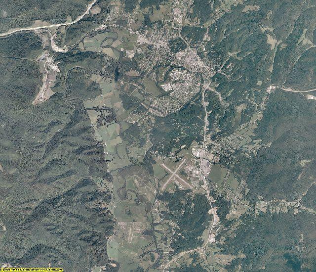 Randolph County, West Virginia aerial photography