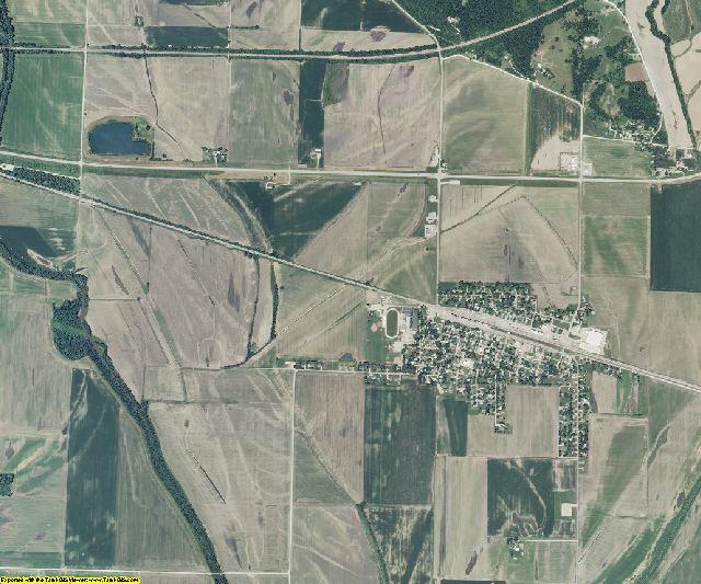 Ray County, Missouri aerial photography