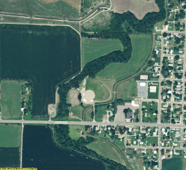 Red Willow County, NE aerial photography detail