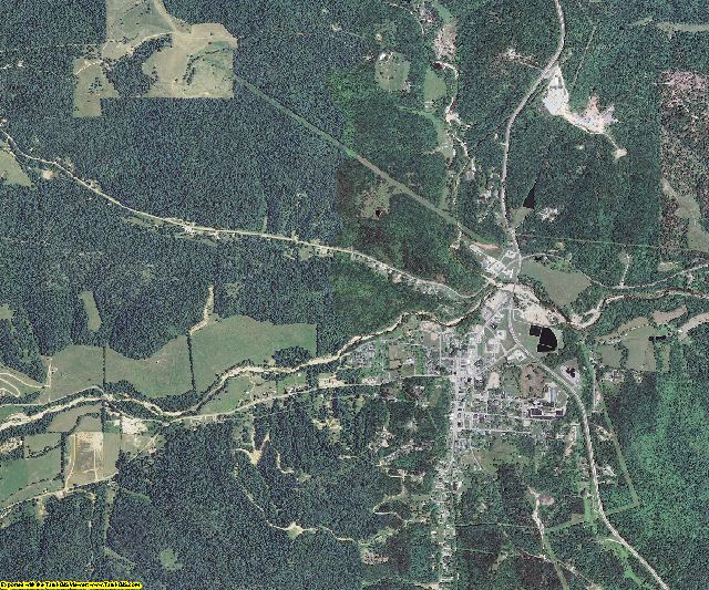 Reynolds County, Missouri aerial photography