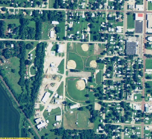 Richardson County, NE aerial photography detail