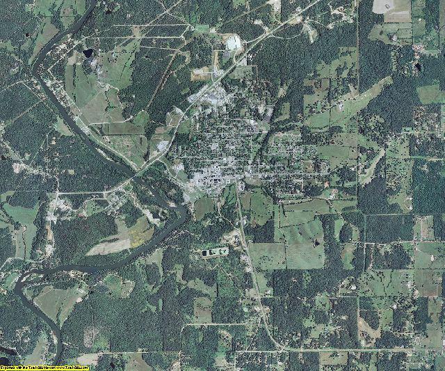 Ripley County, Missouri aerial photography