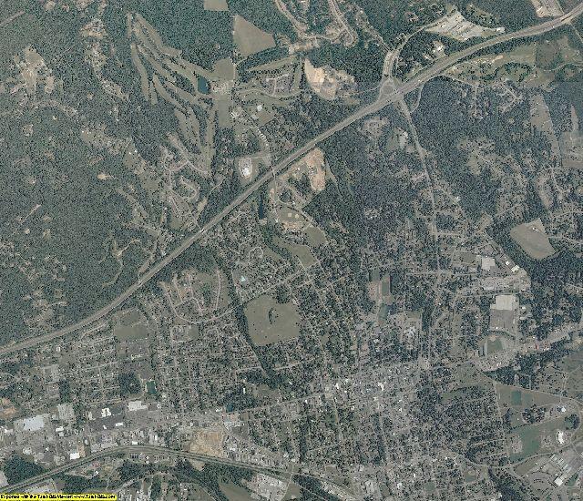 Roanoke County, Virginia aerial photography