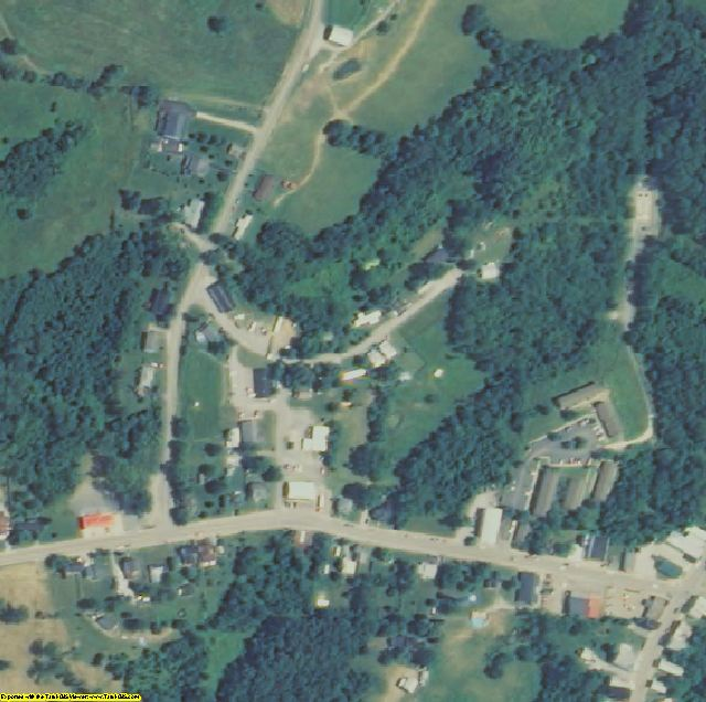 Robertson County, KY aerial photography detail