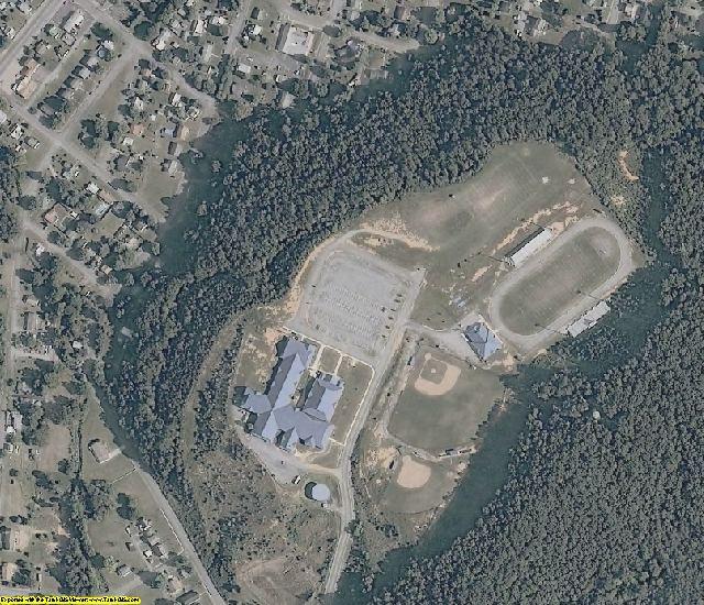 Rockbridge County, VA aerial photography detail