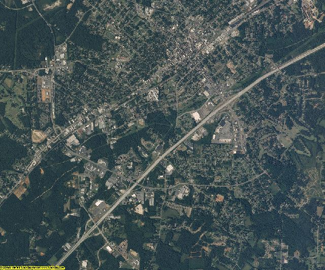Rowan County, North Carolina aerial photography