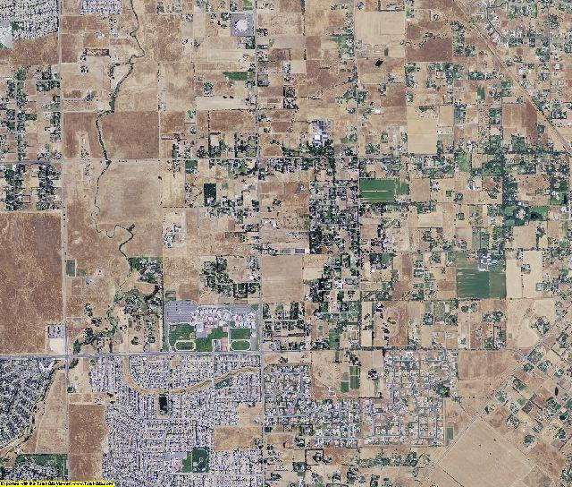 Sacramento County, California aerial photography