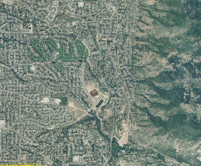 Salt Lake County, Utah aerial photography