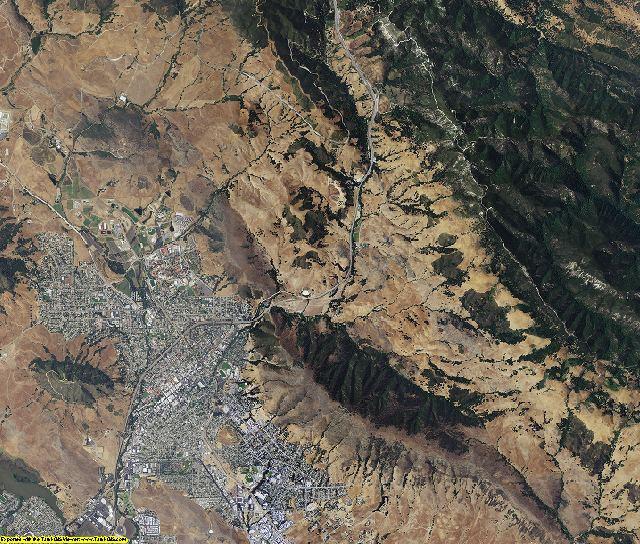 San Luis Obispo County, California aerial photography
