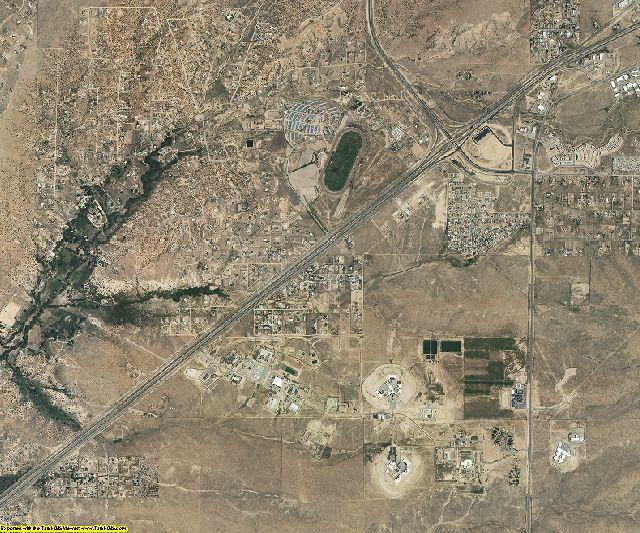 Santa Fe County, New Mexico aerial photography