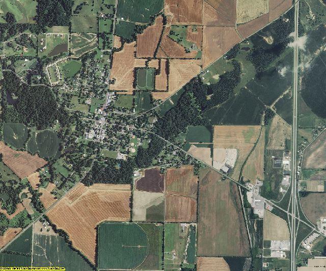 Scott County, Missouri aerial photography