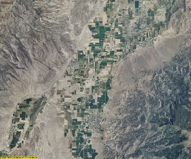 Sevier County, Utah aerial photography