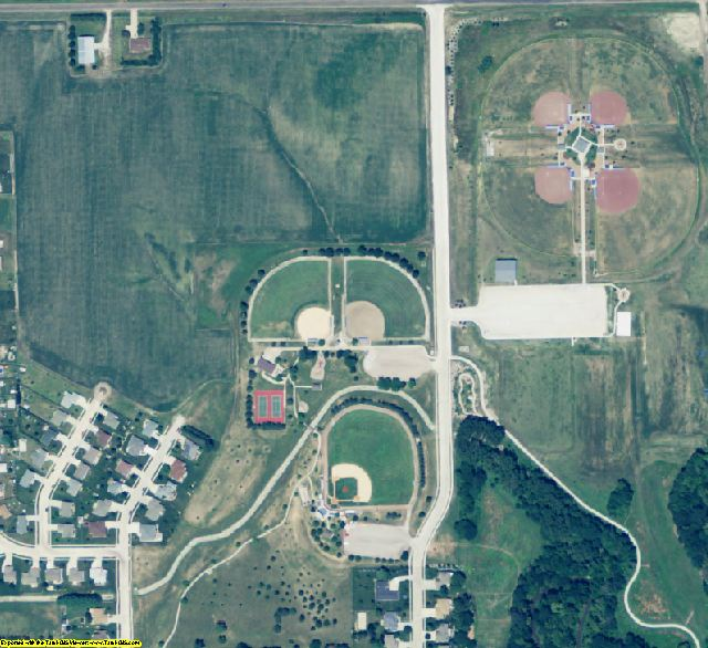 Seward County, NE aerial photography detail