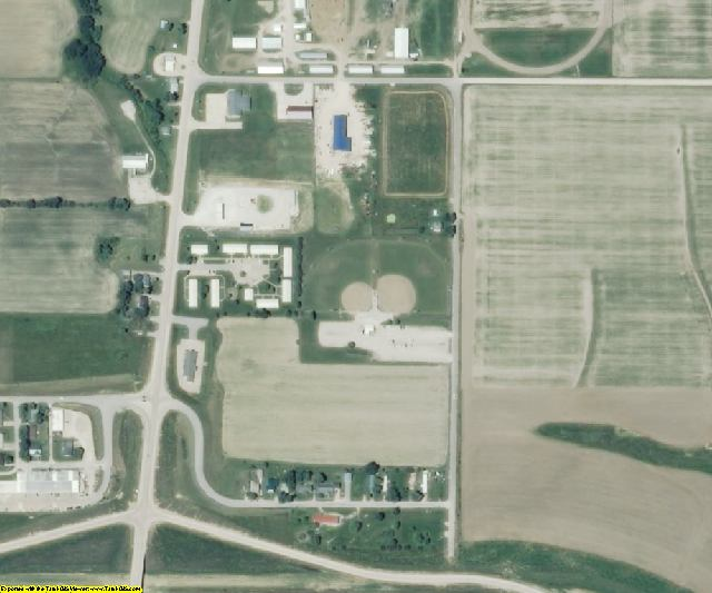 Shelby County, MO aerial photography detail