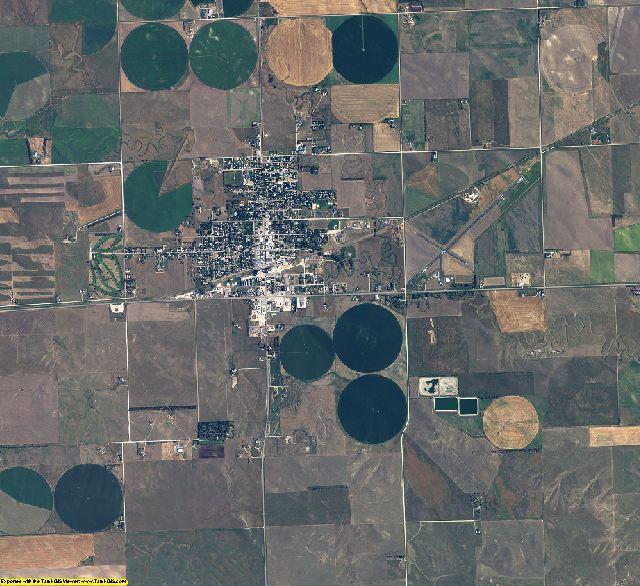 Sheridan County, Nebraska aerial photography