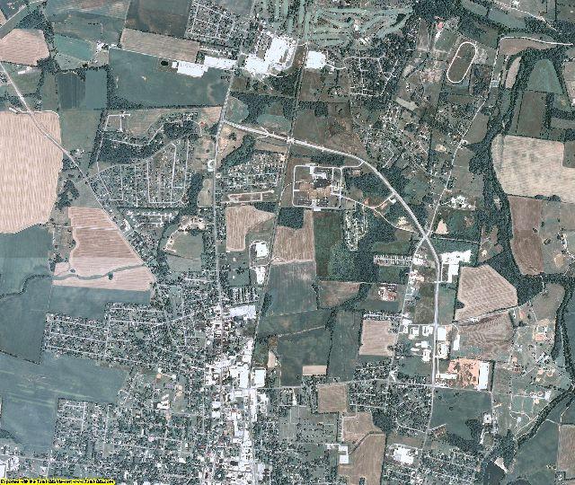 Simpson County, Kentucky aerial photography