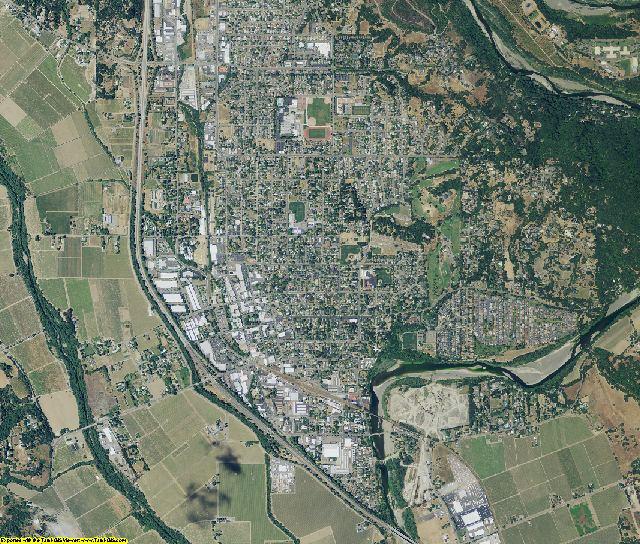 Sonoma County, California aerial photography