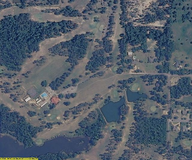 Stone County, MS aerial photography detail