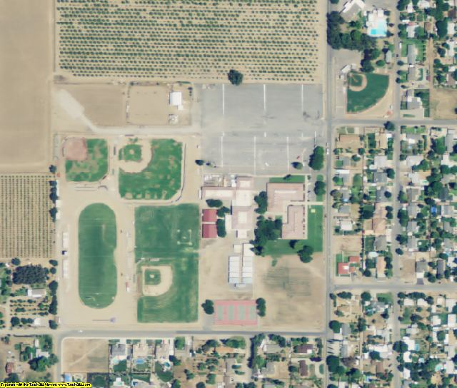 Sutter County, CA aerial photography detail