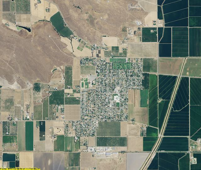 Sutter County, California aerial photography