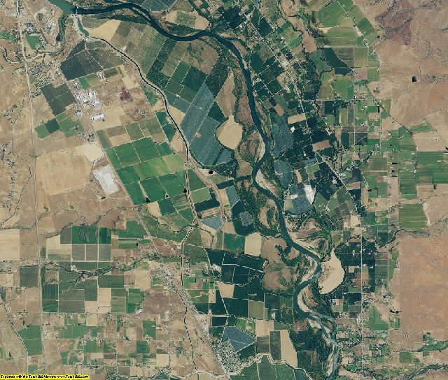 Tehama County, California aerial photography