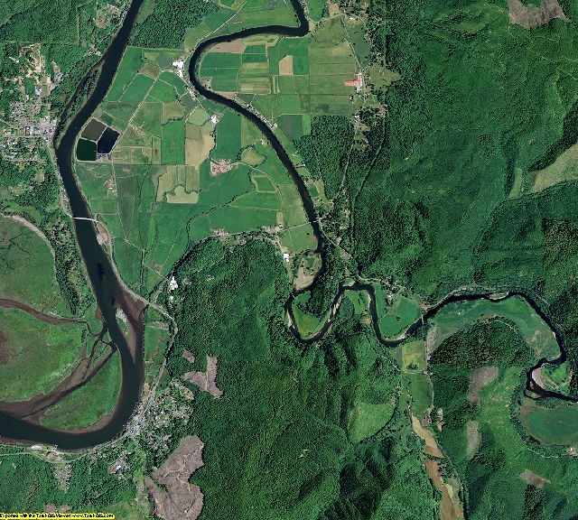Tillamook County, Oregon aerial photography