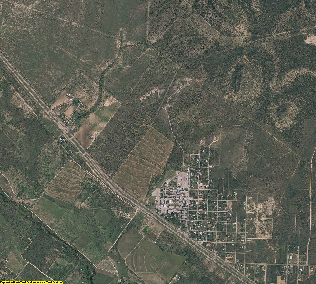 Tom Green County, Texas aerial photography